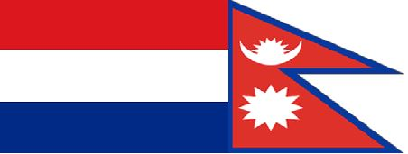 Dutch Nepal flag
